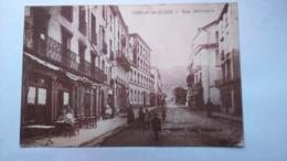 Carte Postale ( AA5 ) Ancienne De Amelie Les Bains , Rue Nationnale - Otros Municipios