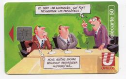 FRANCE EN1050 UNILOG 50U Date 10/94 Tirage 2583 Ex - Privadas