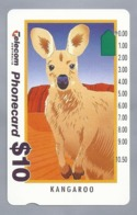AU.- Telecom Phonecard $10. KANGaROO. AUSTRALIA. 0033552947. Kangoeroe - Telefonkarten