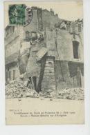 SALON DE PROVENCE - Tremblement De Terre Du 11 Juin 1909 - Maison Démolie , Rue D'Avignon - Salon De Provence
