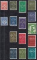 EUROPA CEPT  Jahrgang 1959, Postfrisch **, Komplett, Sechsgliedrige Kette - 1959