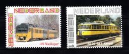 Trein, Train, Locomotive, Eisenbahn Nederland  Persoonlijke Zegel : NS Wadloper + NS Kameel - Trains
