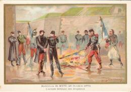 Reddition De METZ Belle Image De 1894-1895 Illustration Germain - Army & War
