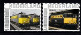 Trein, Train, Locomotive, Eisenbahn Nederland  Persoonlijke Zegel :NS 1100  2 X - Trains