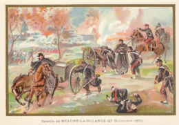 Bataille De Beaune La Rolande  Belle Image De 1894-1895 Illustration Germain - Army & War