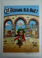 EX LIBRIS NICOLAS TABARY N°246/250 SIGNE IZNOGOUD 22ème FESTIVAL DE BUC 2015 - Ex-libris