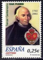 España. Spain. 2002. III Centenario Del Monte De Piedad. Padre Piquer - 2001-10 Nuevos & Fijasellos