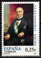 España. Spain. 2002. Alejandro Mon - 2001-10 Nuevos & Fijasellos