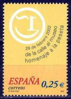España. Spain. 2002. Homenaje A La Peseta - 2001-10 Nuevos & Fijasellos