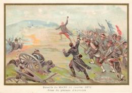 Bataille Du Mans Plateau D' Auvours Belle Image De 1894-1895 Illustration Germain - Army & War