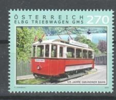 """Österreich 2019:  """"Gmundner Straßenbahn"""" Postfrisch (siehe Foto) - 1945-.... 2ème République"""