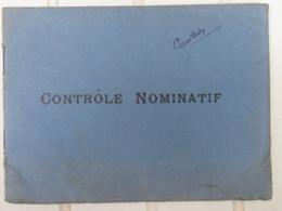 PETIT CARNET DE CONTROLE NOMINATIF D'UN OFFICIER OFFERT PAR PÉTROLE HAHN- 15ème Régiment De Tirailleurs Algériens 1938 - Libri, Riviste & Cataloghi
