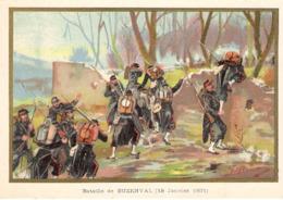 Bataille De Buzenval Belle Image De 1894-1895 Illustration Germain - Army & War