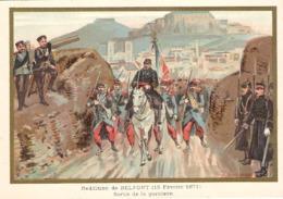 Reddition De Belfort  Belle Image De 1894-1895 Illustration Germain - Army & War