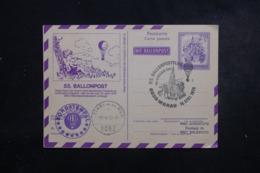 AUTRICHE - Entier Postal Par Ballon En 1975 , Cachets Plaisants , à Voir - L 44368 - Ballonpost