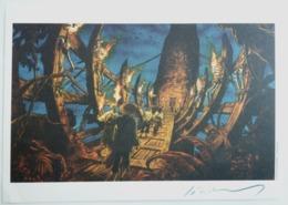 EX LIBRIS JEREMY N°HC 31/50 SIGNE BARACUDA - Illustrateurs J - L