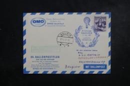 AUTRICHE - Carte Par Ballon En 1961 , Cachets Plaisants , à Voir - L 44369 - Ballonpost
