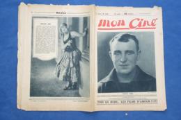 REVUE CINÉMA 1924 MON CINÉ CHARLES VANEL GISH DANSE PARIS MADO MINTY JOYCE MACLAREN CHILDERS VALENTINO PAILLASSE DEAN - 1900 - 1949