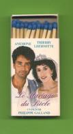 Petite Boite D'allumettes - Le Mariage Du Siècle De Philippe Galland Avec Thierry Lhermitte Et Anémone. - Matchboxes