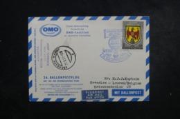 AUTRICHE - Carte Par Ballon En 1961 , Cachets Plaisants , à Voir - L 44370 - Ballonpost