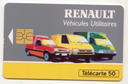 FRANCE EN724  RENAULT Utilitaires 50U Date 11/93 Tirage 3060 Ex - Privadas