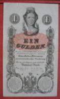 1 Gulden 1.1.1858 (WPM A84) - Austria