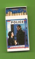 Petite Boite D'allumettes - Police De Maurice Pialat Avec Gérard Depardieu Et Sophie Marceau. - Matchboxes
