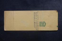 BRÉSIL - Bande Journal Pour La Belgique - L 44376 - Postal Stationery