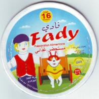 """Algérie - 1  Couvercle De  Fromage Fondu """" Fadi"""" 16 Portions.. - Fromage"""
