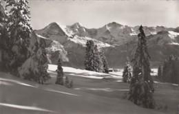 Beatenberg, Eiger, Mönsch, Jungfrau - Cachet Pen K27 - 1958 - BE Berne