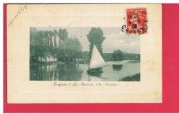 CPA-16-1909-COGNAC-LA CHARENTE A LA COURTINE-1 VOILIER - Cognac