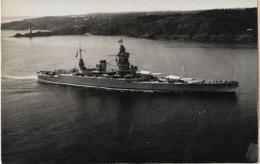 BATEAU CARTE PHOTO ESCADRE DE L'ATLANTIQUE - Guerre