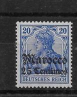 Sello De Marruecos Nº Michel 37 ** Valor Catálogo 25.00€ - Deutsche Post In Marokko
