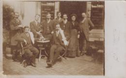 Commerce - Café Restaurant - Carte-Photo - Arthur Loiseau - Boisson Absinthe ? - Caffé