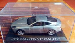 ASTON MARTINE V12 VANQUISH ECHELLE 1/43 EME - Cars & 4-wheels