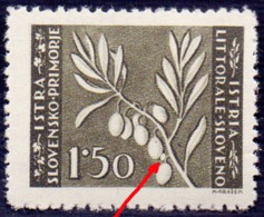 LITORALE - SLOVENIA - ITALIA - EROR OLIVA - **MNH - 1945 - Nuovi