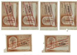 TICKETS DE RATIONNEMENT - Vieux Papiers