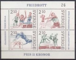--- 1986 Suède Y. BF 14** M. Block 14** - Suède