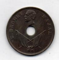 BRITISH INDIA - SARAWAK, 1 Cent, Copper, 1896, KM #7 - India