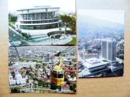 3 Postal Stationery Cards Ussr Georgia Tbilisi - Georgië