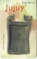 ARGENTINA(chip) - Jujuy, Telefonica Telecard(F 88), Chip GEM1a, 10/97, Used - Argentinië