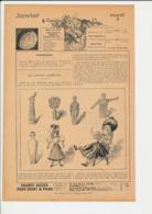 5 Scans Presse 1898 Fabrication Jouet Ancienne Poupée Mater Dolorosa Vidrac De Bordeaux Bagne Nouméa Mont Coffyn 226CH20 - Vieux Papiers