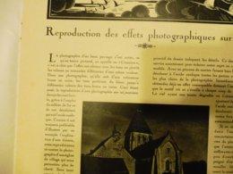 1933 Numéro 285 (L'ARTISAN PRATIQUE) Reproduction Des Effets Photographiques Sur Cuir (église De Trôo ,Loir-et-Cher);etc - Home Decoration