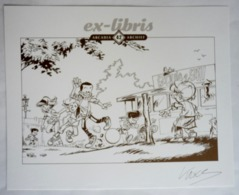 EX LIBRIS KRINGS LA RIBAMBELLE SIGNE XL Arcadia 42 Archief - Illustrateurs J - L