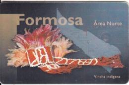 ARGENTINA(chip) - Formosa, Telefonica Telecard(F 90), Chip GEM1, 11/97, Used - Argentinië