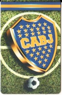 ARGENTINA(chip) - Boca Juniors AC, Telefonica Telecard(F 125), Chip G&D, 09/98, Used - Argentine