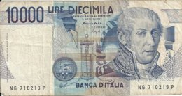 ITALIE 10000 LIRE D.1984 VG++ P 112 C - 10000 Lire
