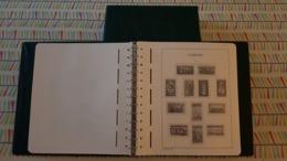 """GUERNESEY : 1 RELIURE  """"LEUCHTTURM"""" AVEC POCHETTES INTEGREES - PERIODE 1969 A 1992 - Albums & Bindwerk"""
