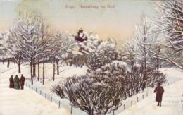 Riga * Basteiberg Im Reif, Park Im Winter, Stadtteil * Lettland * AK1392 - Lettonie