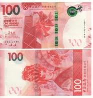 HONG KONG  New $ 100.  Newly Issued. Date S 1.1.2018.  Pnew. Bank Of China - Hong Kong